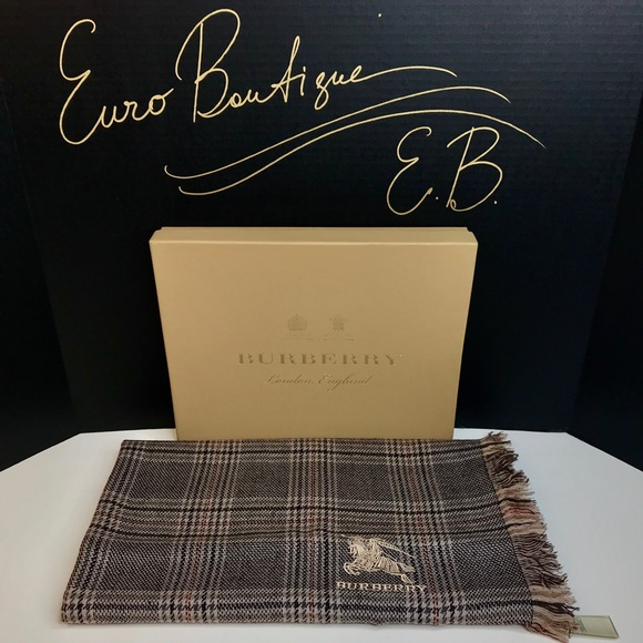 Burberry Accessories - Burberry Shawl Tartar Shawl New Without Tags Large